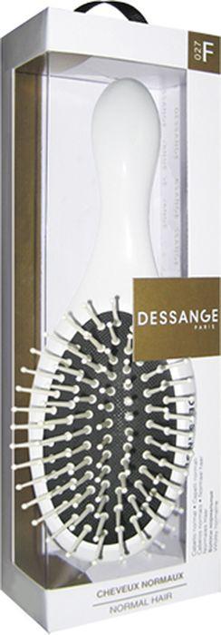 Щетка массажная Dessange, компактная, цвет: белый массажная палочка шунгит 8 10 см