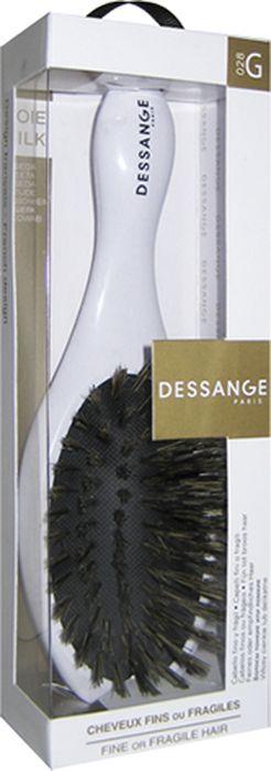 Щетка массажная Dessange, комбинированная956028Массажная щетка Dessange с нейлоновыми волокнами тщательно прочесывает волосы любой густоты. Обладает ухаживающим эффектом, приглаживает чешуйки волоса, повышает эластичность и блеск волос. Идеально отшлифованные кончики щетинок не царапают кожу головы и исключают травмирование волос. Пластик из которого изготовлена щетка безопасен в использовании, высокоустойчив к истиранию и механическим воздействиям. Компактные размеры щетки позволяют ей уместится практически в любой дамской сумочке. Характеристики:Материал: пластик. Размер щетки: 17 см х 5,5 см х 3,5 см. Размер рабочей поверхности щетки: 4,5 см х 8 см. Жесткость щетины: Medium. Размер упаковки: 20 см х 6 см х 4 см. Производитель: Франция. Изготовитель: Корея. Артикул: 656128.