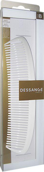 Расческа Dessange956037Расческа Dessange незаменима для расчесывания и распутывания длинных волос, а так же для курчавых и химически завитых. Мягко расчесывают волосы, не травмируют кожу головы. Пластик, из которого изготовлена расческа, безопасен в использовании, обладает высокой устойчивостью к истиранию и механическим воздействиям. Идеально гладкая поверхность расчески полностью исключает травмирование волос и кожи головы. Характеристики:Материал: пластик с элементами из шелка. Длина расчески: 20 см. Наибольшая длина зубьев: 3,5 см. Размер упаковки: 28 см х 7 см х 1,5 см. Производитель: Франция. Изготовитель: Китай. Артикул: 656135.