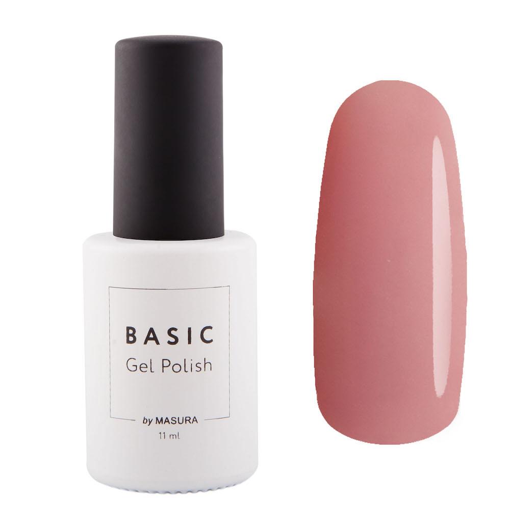 Masura Гель-лак BASIC Естественная Красота, 11 мл294-307полупрозрачный с насыщенным розовым оттенком