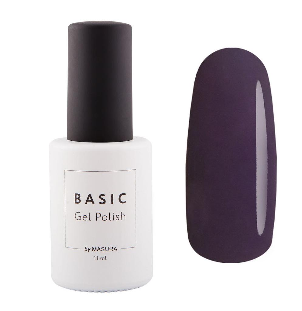Masura Гель-лак BASIC Между Строк, 11 мл294-312баклажановый цвет, плотныйКак ухаживать за ногтями: советы эксперта. Статья OZON Гид