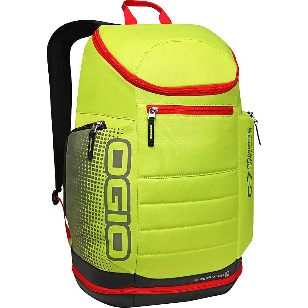 Рюкзак городской OGIO Active. C7 Sport Pack (A/S), цвет: желтый, черный, красный. 031652226838031652226838Городской рюкзак Active. C7 Sport Pack (A/S) - это удобнейший рюкзак для занятий спортом с огромным основным отделением и несколькими внешними карманами. Туда поместится экипировка практически для любого вида спорта. OGIO - высокотехнологичный продукт от американского производителя. Вместимые сумки для путешествий, работы и отдыха, специальная коллекция городских сумок для женщин, жесткие боксы под мелкий инвентарь и многое другое.
