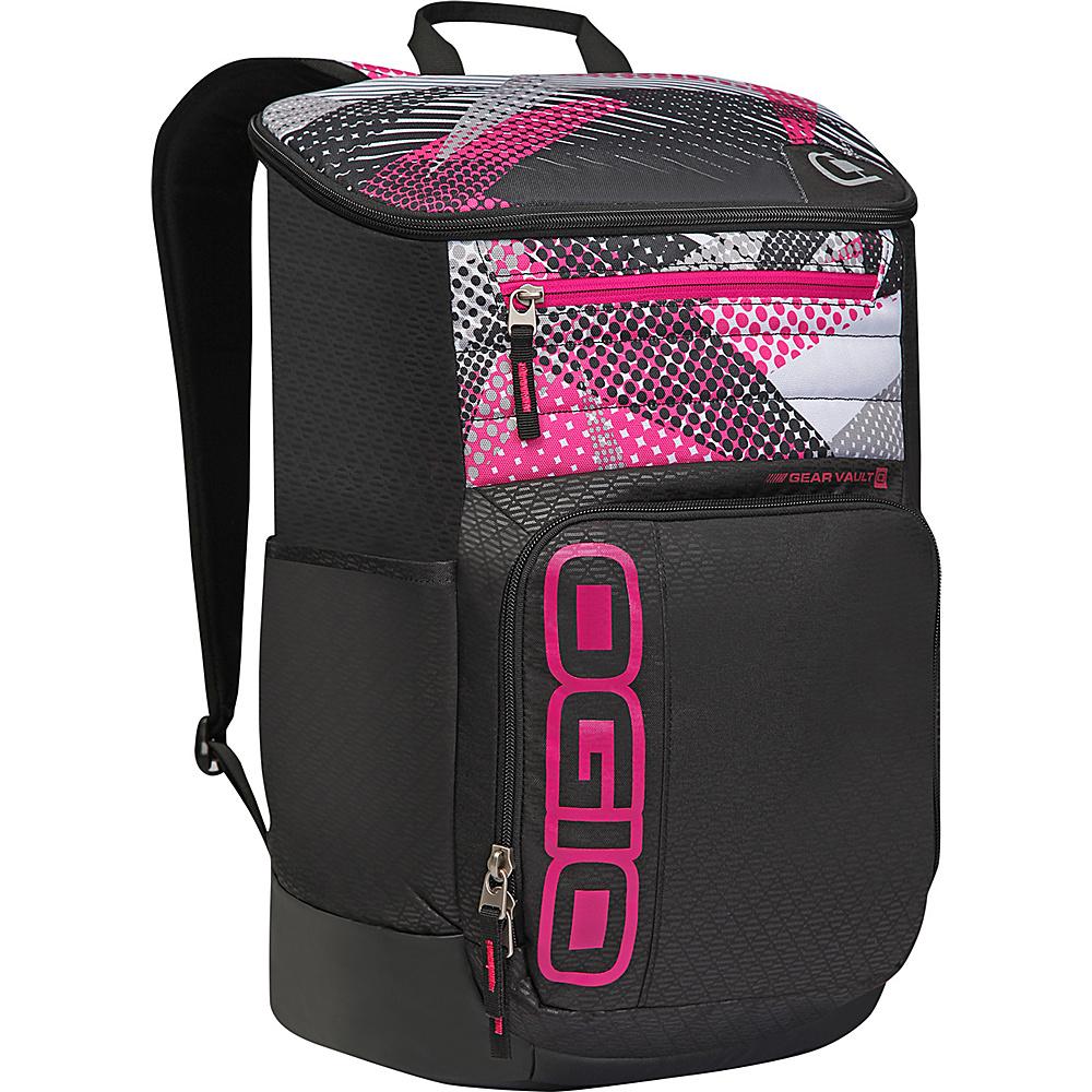 Рюкзак городской OGIO Active. C4 Sport Pack (A/S), цвет: черный, фуксия. 031652226913031652226913Городской рюкзак OGIO Active. C4 Sport Pack (A/S) - это удобнейший рюкзак для занятий спортом с огромным основным отделением и несколькими внешними карманами. Туда поместится экипировка практически для любого вида спорта. Рюкзак оснащен ручкой для переноски, двумя регулируемыми плечевыми ремнями. Имеются четыре наружных кармана (два из них на молнии и два - без застежки), одно объемное отделение с застежкой на молнию и три внутренних кармана без застежки.OGIO - высокотехнологичный продукт от американского производителя. Вместимые сумки для путешествий, работы и отдыха, специальная коллекция городских сумок для женщин, жесткие боксы под мелкий инвентарь и многое другое.