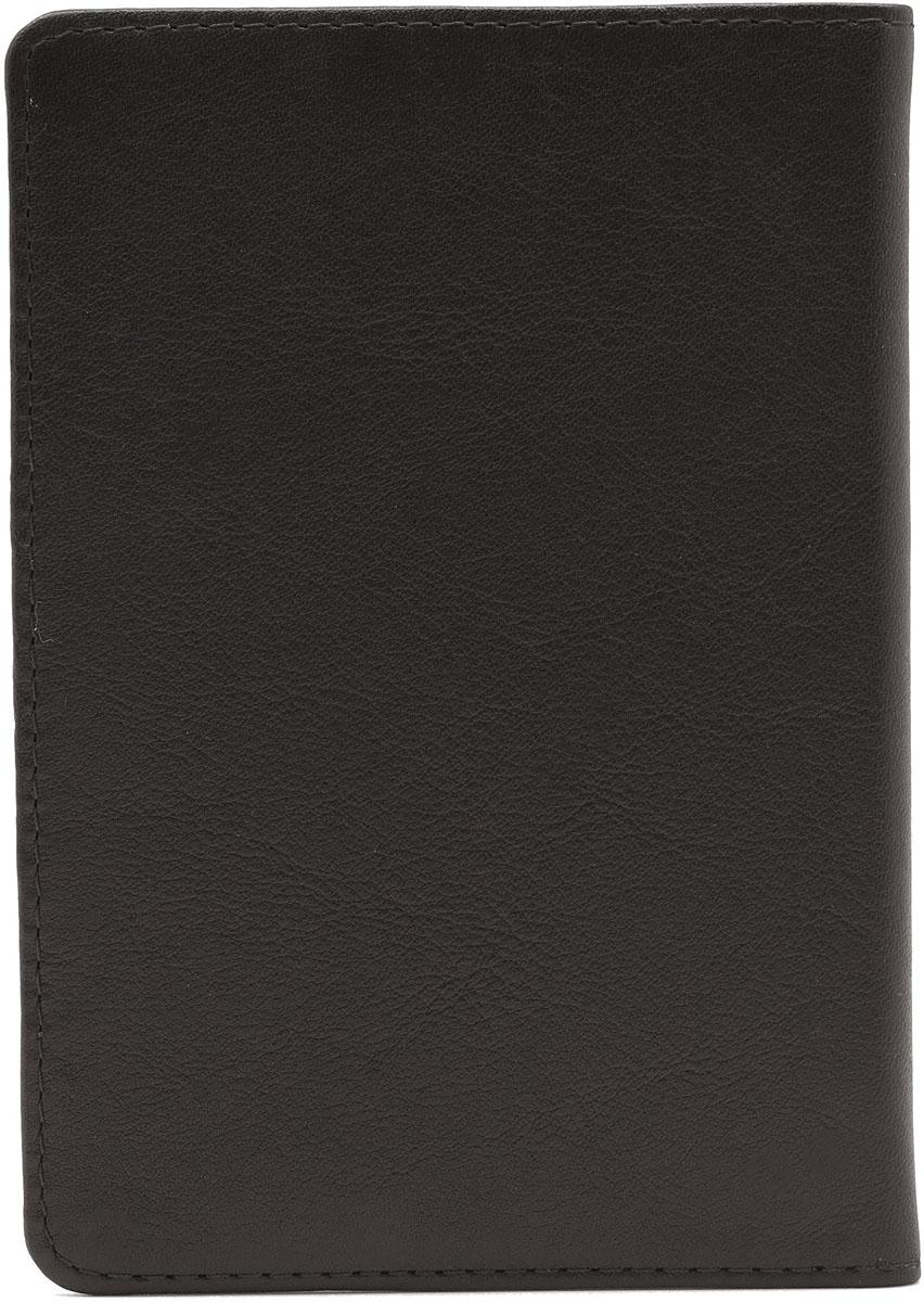 Обложка для паспорта Soltan, цвет: темно-коричневый. 011 01 03Натуральная кожаОбложка для паспорта Soltan выполнена из натуральной кожи. У модели внутри имеется карман для кредитки или водительского удостоверения.