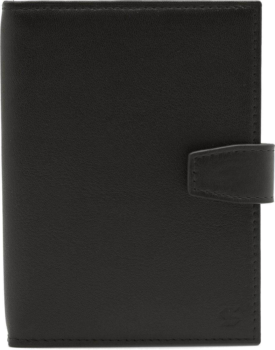 Обложка для автодокументов Soltan, цвет: темно-коричневый. 075 01 03Натуральная кожаОбложка для автодокументов Soltan выполнена из натуральной кожи. Модель закрывается на хлястик с кнопкой. Внутри четыре кармашка для карточек, файлы для документов и отделение для паспорта.