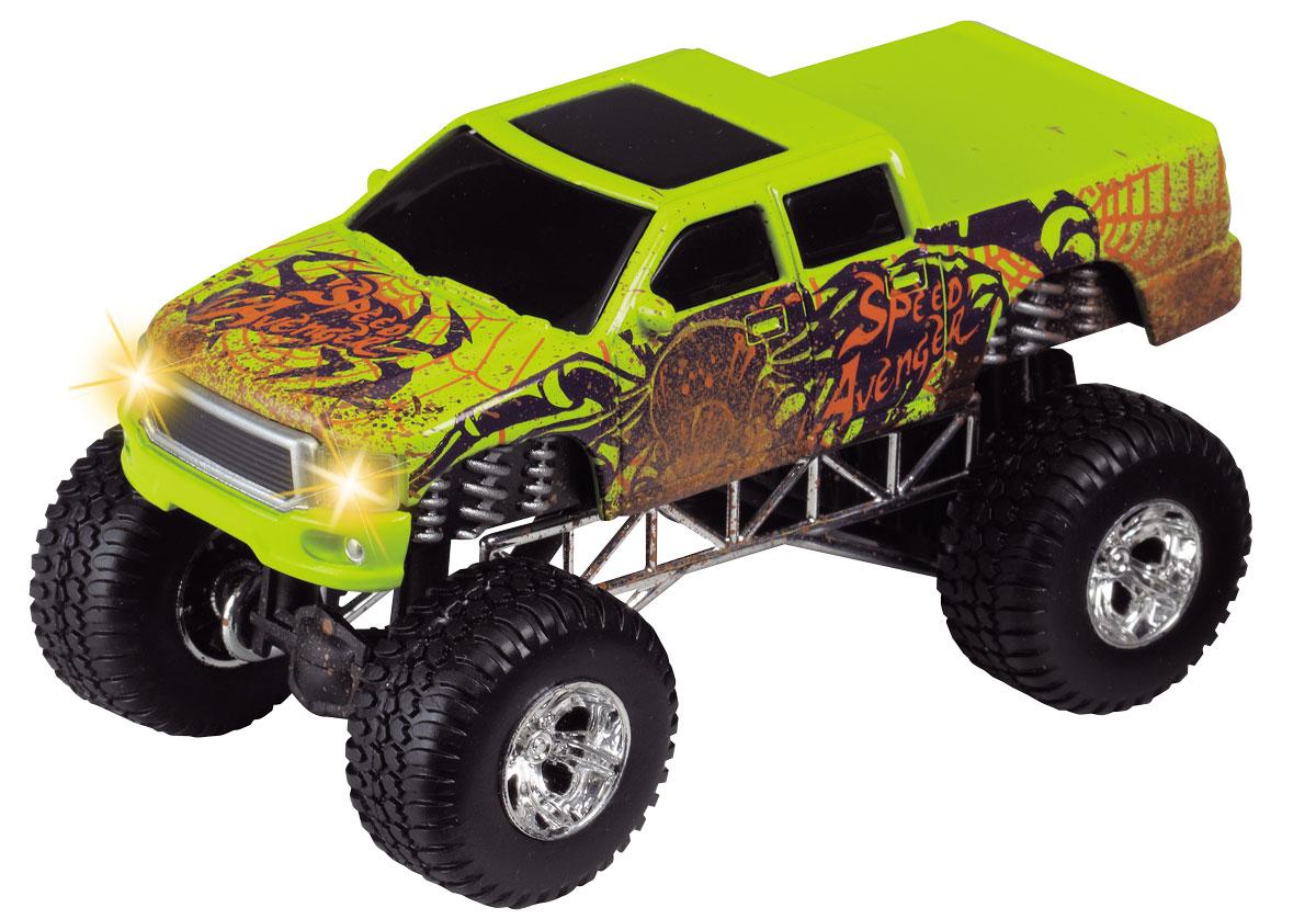 Dickie Toys Джип Dirt Monster цвет зеленый dickie toys городской трамвай