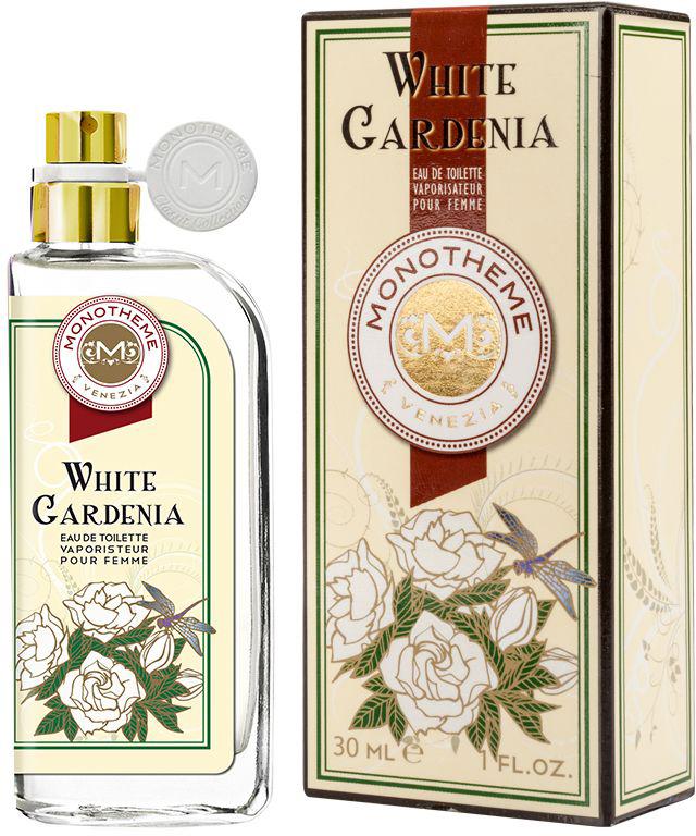 Monotheme Туалетная вода женская Monotheme Classic White Gardenia, 30 мл sweet sleeveless scoop neck bowknot design polka dot dress for women