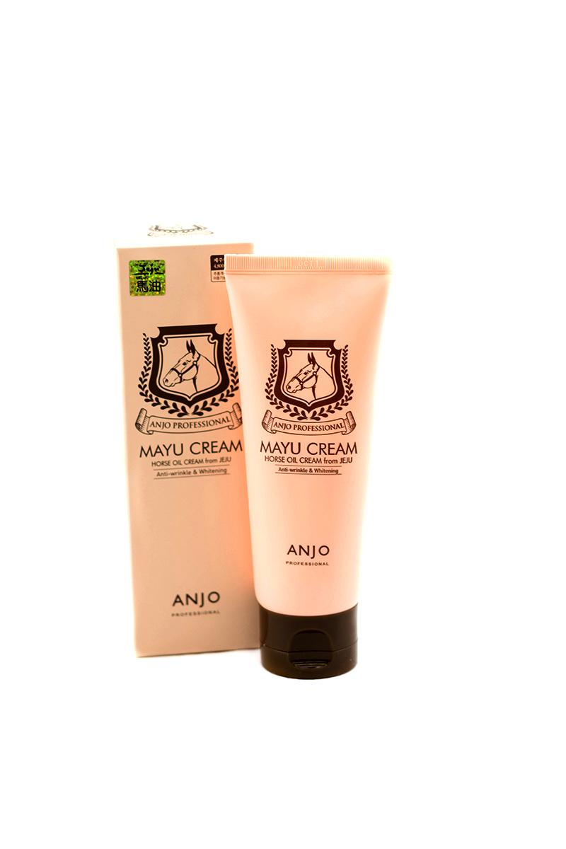 Anjо Professiona Антивозрастной отбеливающий крем с лошадиным жиром, туба, 80 мл341543