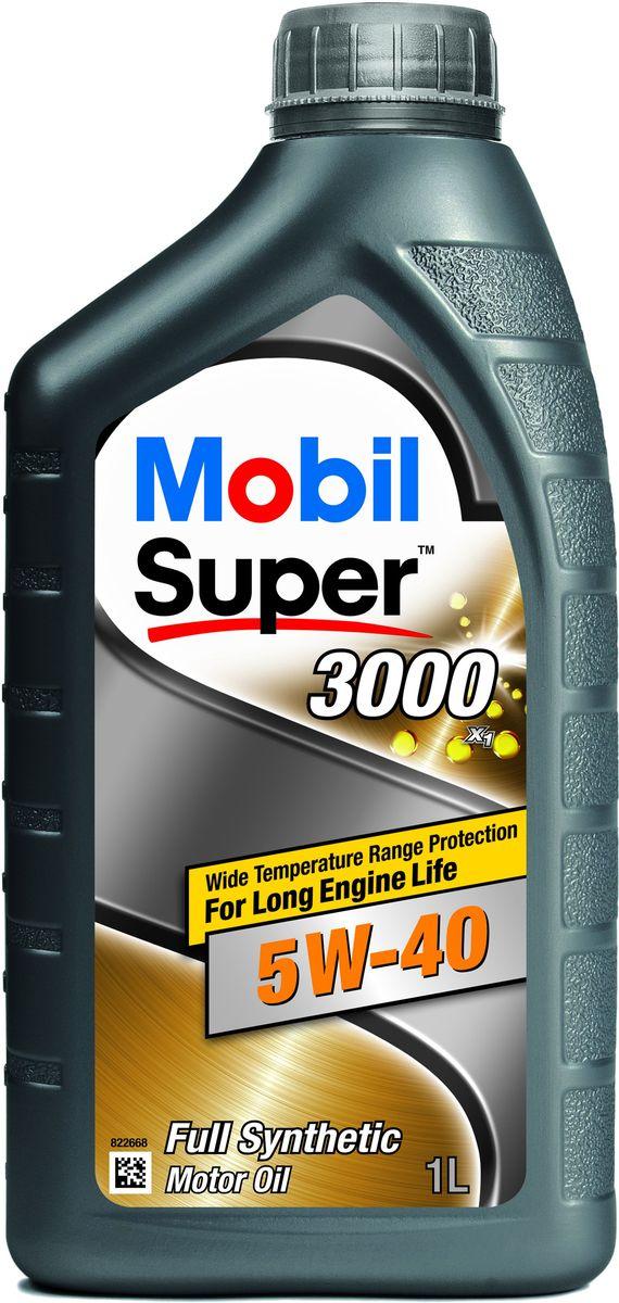 Масло моторное Mobil Super 3000 X1, синтетическое, класс вязкости 5W-40, 1 л152567Mobil Super 3000 X1 - синтетическое моторное масло, обеспечивающее длительный срок службыдвигателей в автомобилях различных типов и годов выпуска, а также повышенный уровень ихзащиты в широком диапазоне температур. Особенности:- Надежная защита при повышенных температурах; - Улучшенные смазывающие свойства при холодном пуске; - Хорошая чистота двигателя и защита от образований отложений и шлама; - Защита двигателя от износа. Сертификации и одобрения: - ACEA: A3/B3, A3/B4, - AAE (STO 003) Group B6, - MB-Approval 229.3, - VW 502 00/505 00, - BMW Longlife-01, - Porsche A40, - Peugeot/Citroen Automobiles B71 2296, - Renault RN0710 / RN0700, - AVTOVAZ (автомобили Лада), - Opel GM-LL-B-025. Товар сертифицирован.
