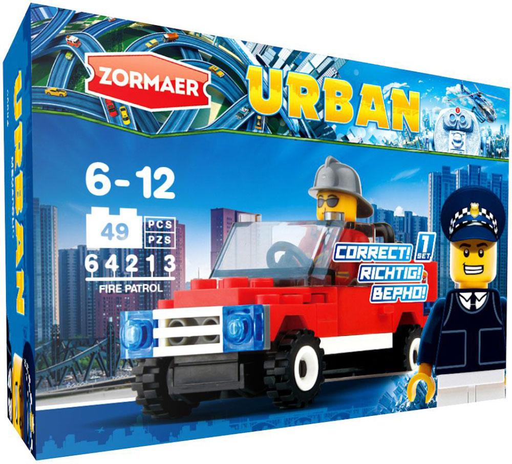 Zormaer Конструктор Пожарный патруль zormaer конструктор боевой разведчик