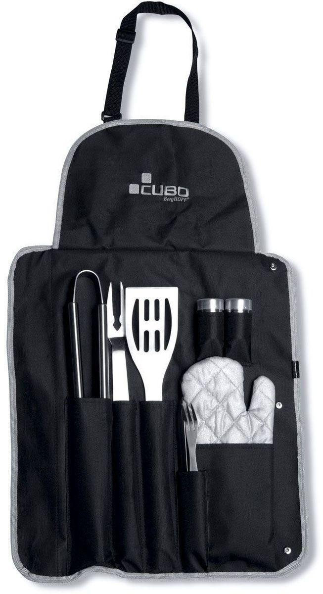 Набор для барбекю BergHOFF  Cubo , цвет: металлик-черный, 9 предметов -