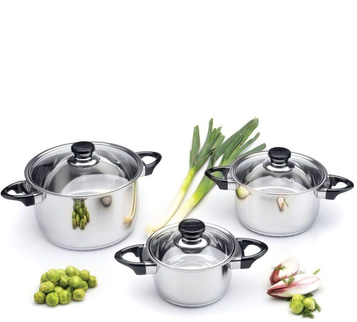 Набор посуды BergHOFF Studio, 6 шт. 11124731112473