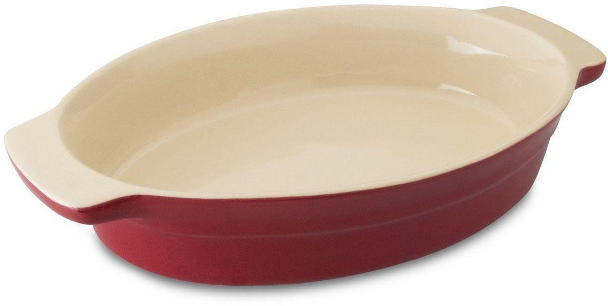 Блюдо для запекания BergHOFF Geminis, овальное, 29 х 18,5 х 5,5 см1695006Блюдо для выпечки BergHOFF Geminis овальной формы изготовлено из жаропрочной глазурованной керамики, что обеспечивает оптимальное распределение тепла. Подходит для запекания различных блюд. Может быть использовано для подачи запеченных и охлажденных блюд на стол. Подходит для использования в СВЧ и духовом шкафу. Можно мыть в посудомоечной машине.