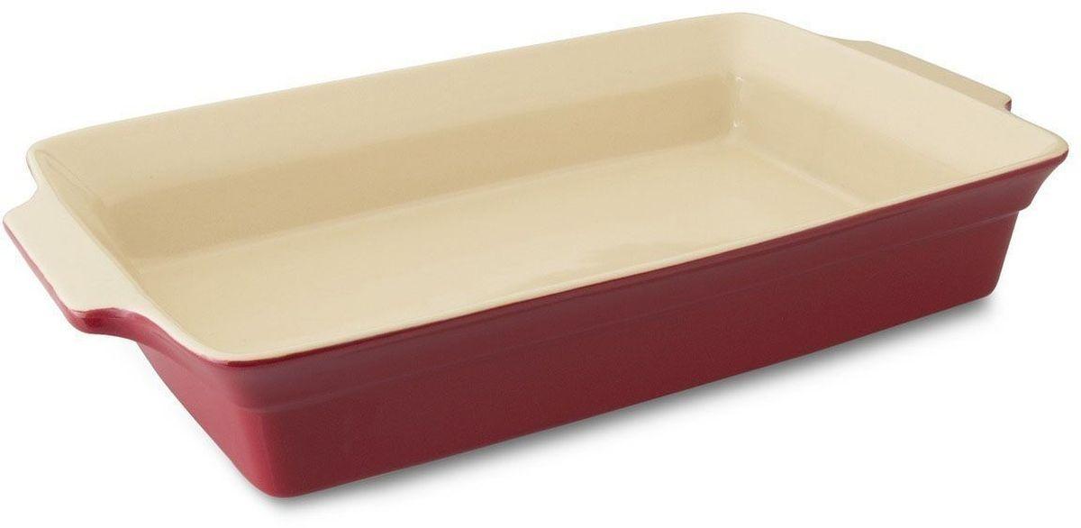 Блюдо для запекания BergHOFF Geminis, прямоугольное, 43 х 26,5 х 7,8 см. 16950201695020Блюдо для выпечки BergHOFF Geminis прямоугольной формы изготовлено из жаропрочной глазурованной керамики, что обеспечивает оптимальное распределение тепла. Подходит для запекания различных блюд. Может быть использовано для подачи запеченных и охлажденных блюд на стол. Блюдо станет отличным дополнением к вашему кухонному инвентарю, а также украсит сервировку стола и подчеркнет ваш прекрасный вкус.Подходит для использования в СВЧ и духовом шкафу. Можно мыть в посудомоечной машине.