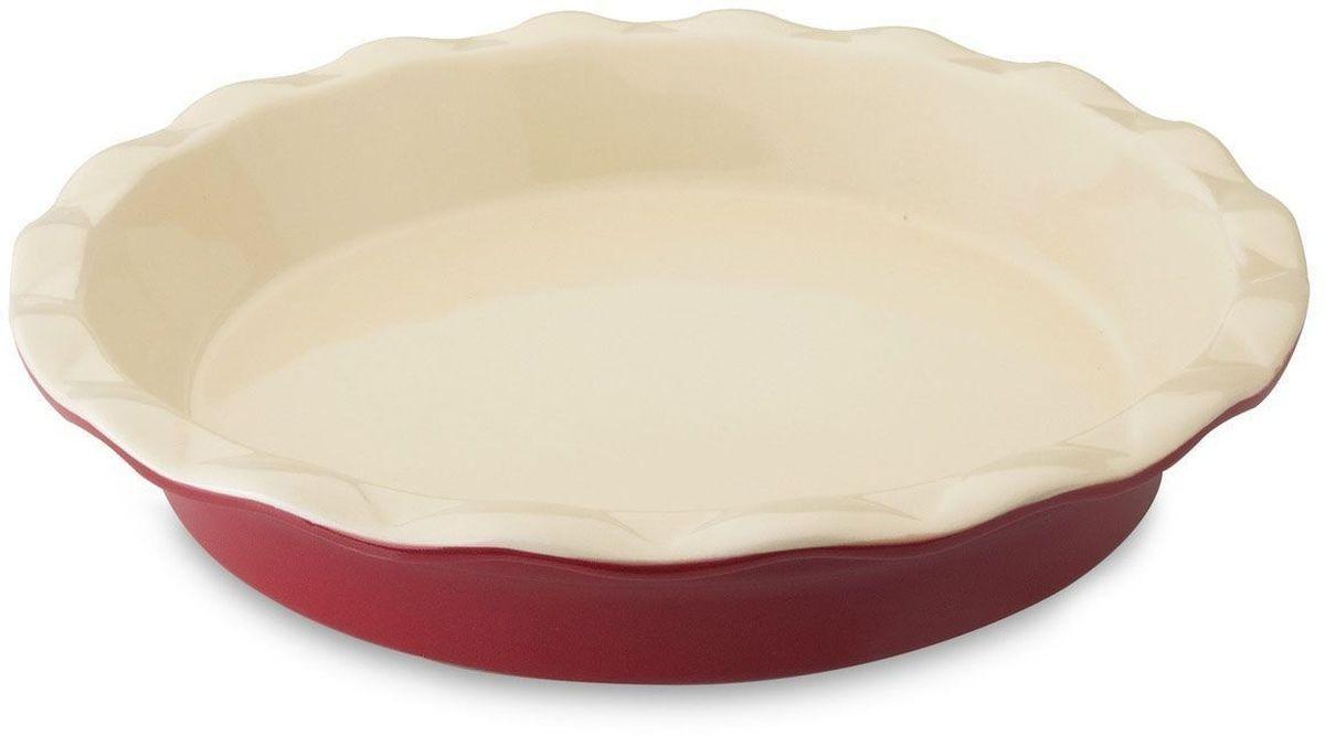 Блюдо для запекания BergHOFF Geminis, круглое, 28,5 х 28,5 х 5,5 см. 16950511695051Круглое блюдо для запекания BergHOFF Geminis изготовлено из жаропрочной керамики, что обеспечивает оптимальное распределение тепла. Оно может быть использовано, как для запекания различных блюд, так и подачи их на стол. Блюдо станет отличным дополнением к вашему кухонному инвентарю, а также украсит сервировку стола и подчеркнет ваш прекрасный вкус. Подходит для использования в СВЧ и духовом шкафу. Можно мыть в посудомоечной машине.
