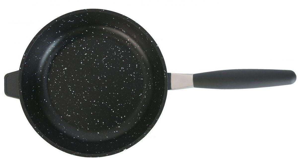 """Сковорода с антипригарным покрытием BergHOFF """"Geminis Scala"""" необходима для ежедневного использования, делает возможной жарку с минимальным количеством жира или без него, для заботящихся о здоровье кулинаров. Идеальная высокопроизводительная сковорода для различных кулинарных задач: жарки мяса, птицы, омлетов, яичниц и многого другого. Прочная и простая в использовании сковорода с быстрым и равномерным распределением тепла. Многослойное и армированное, свободное от ПФОК антипригарное покрытие для удобного извлечения пищи и легкой чистки. Не содержит ни свинца, ни кадмия.  Эргономичная длинная ручка не нагревается на плите. Простой поворот, и продуманная система отсоединения ручки позволяет использовать сковороду также и в духовом шкафу! Благодаря съемной ручке посуду удобно хранить. Конструкция дна делает возможным энергоэффективное приготовление пищи и равномерное распределение тепла по всей поверхности. Объем: 3,6 л. Диаметр: 32 см."""