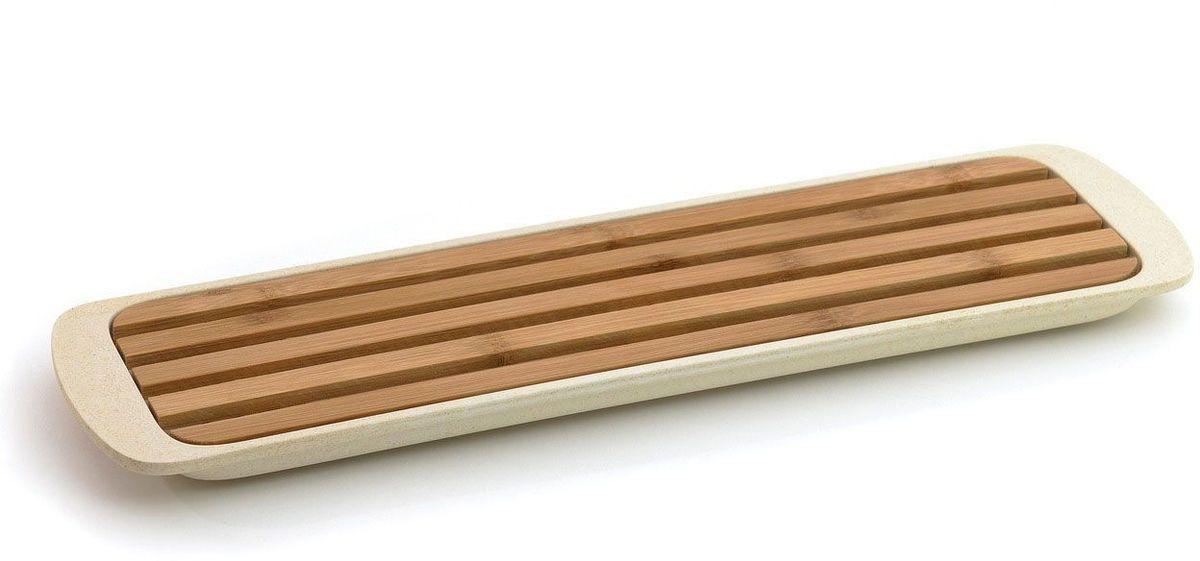 Доска разделочная BergHOFF CooknCo, для нарезки хлеба, 38 х 11 см2800046Разделочная доска BergHOFF CooknCo идеально подойдет для нарезки хлеба и хлебобулочных изделий. Изделие выполнено из бамбуковых волокон и оснащено специальным поддоном из полипропилена для сбора крошек.Не рекомендуется мыть в посудомоечной машине и использовать в микроволновой печи.Размер доски: 33,5 х 9 х 1,4 см.Размер поддона: 38 х 10,7 х 2 см.