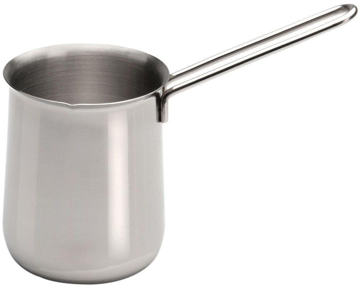 Турка BergHOFF CooknCo, 0,6 л. 28005842800584Турка BergHOFF CooknCo - это турка для приготовления (варки) вашего любимого молотого кофе. Она выполнена из высококачественной нержавеющей стали, которая не даст остынуть напитку долгое время. Такая кофеварка станет для вас незаменимой, если вы любите настоящий зерновой кофе и станет хорошим украшением для вашей кухни.