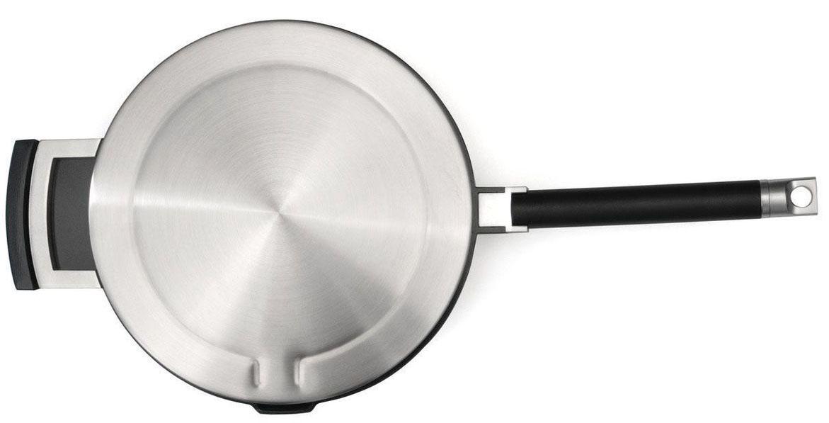 Сотейник в современном стиле. Сотейник из алюминия. Диаметр - 24 см. Объем 2,2 л. У сотейника одна ручка.Сотейник подходит для всех видов плит.