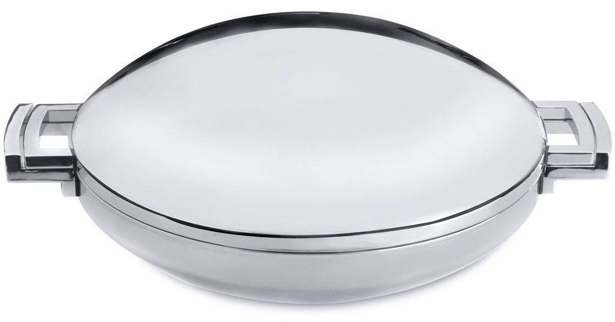 """Вок BergHOFF """"Neo"""" - суперстильный дизайн. Высокое качество нержавеющей стали 18/10 для дополнительной прочности и гигиены.Дно предназначено для энергоэффективного приготовления пищи и передачи тепла по всей поверхности."""
