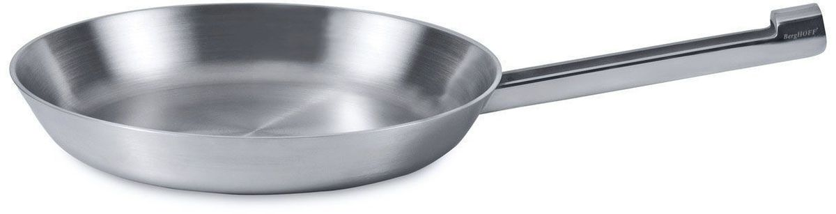"""Сковорода BergHOFF """"Neo"""" выполнена из 5 слоев высококачественного материала, расположенных в изобретательном альянсе для равномерного распределения тепла. Дно и корпус формируют бесшовное целое, гарантирующее, что тепло быстро распределяется по дну до обода.  Эта сковорода с пятислойным дном идеальна для поваров, заботящихся о своем здоровье, которые хотят сохранить потребление жира низким.  Подходит для использования любых типов плит, включая индукционные.  Подходит для мытья в посудомоечной машине. Диаметр: 26 см."""