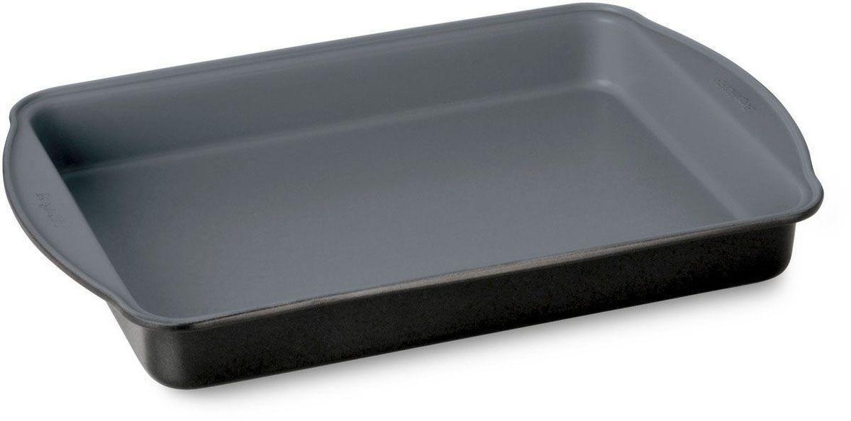 Форма для выпечки BergHOFF Earthchef, продолговатая, 38 х 25 х 4,5 см. 36006163600616Форма для выпечки BergHOFF Earthchef -легкая форма для выпечки равномерно нагревается и обеспечивает однородность выпечки. Посуда с современным антипригарным керамическим покрытием CERAMIC NON-STICK-при нагреве посуды до 450 градусов не выделяет опасные канцерогенные вещества. Выпечка легко вынимается из формы. Посуда легко чистится. Подходит для всех типов духовых шкафов.