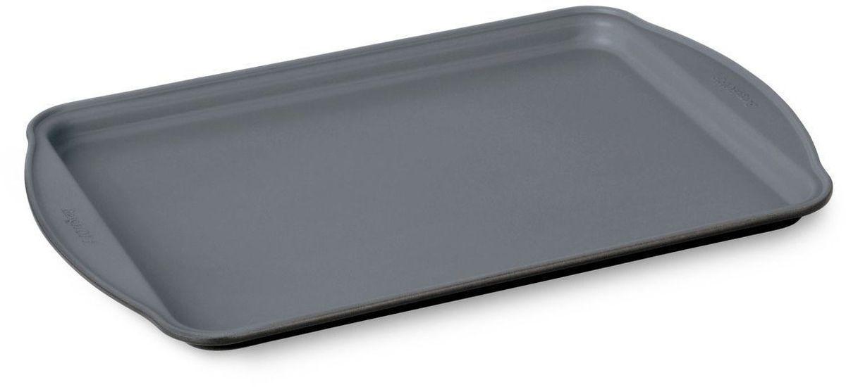 Форма для выпечки BergHOFF Earthchef, прямоугольная, 38 х 25 х 2 см. 36006203600620Форма для выпечки BergHOFF Earthchef -легкая форма для выпечки равномерно нагревается и обеспечивает однородность выпечки. Посуда с современным антипригарным керамическим покрытием CERAMIC NON-STICK-при нагреве посуды до 450 градусов не выделяет опасные канцерогенные вещества. Выпечка легко вынимается из формы. Посуда легко чистится. Подходит для всех типов духовых шкафов.