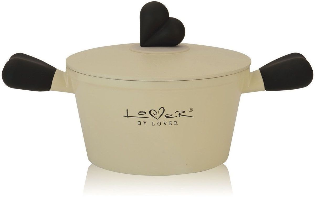 Кастрюля BergHOFF Lover by Lover, с крышкой, 1,4 л, 16 см. 3800005 сковорода berghoff lover by lover 20 см 3800015