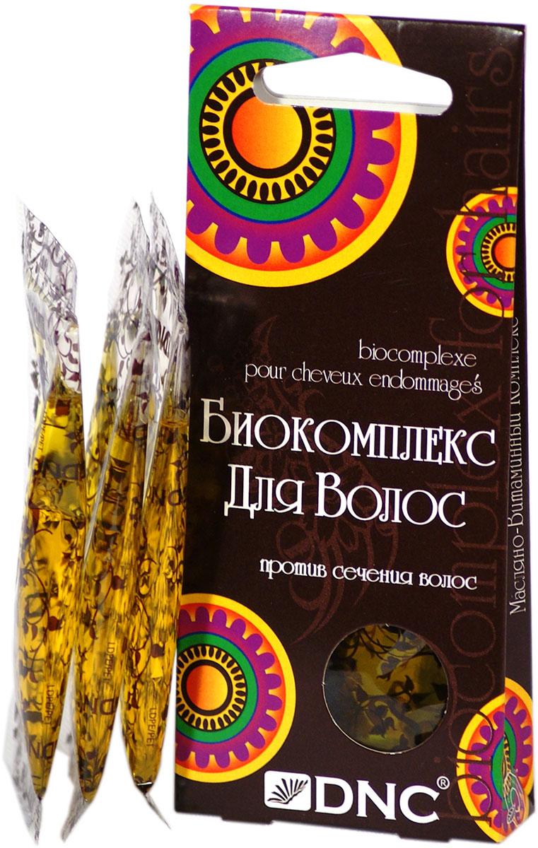 Биокомплекс для волос DNC, против сечения, 3х15 мл dnc набор филлер для волос 3 15 мл и шелк для волос 4 10 мл