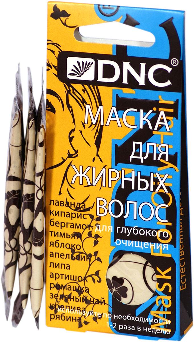 DNC Маска для жирных волос, 3*15 мл dnc набор филлер для волос 3 15 мл и шелк для волос 4 10 мл