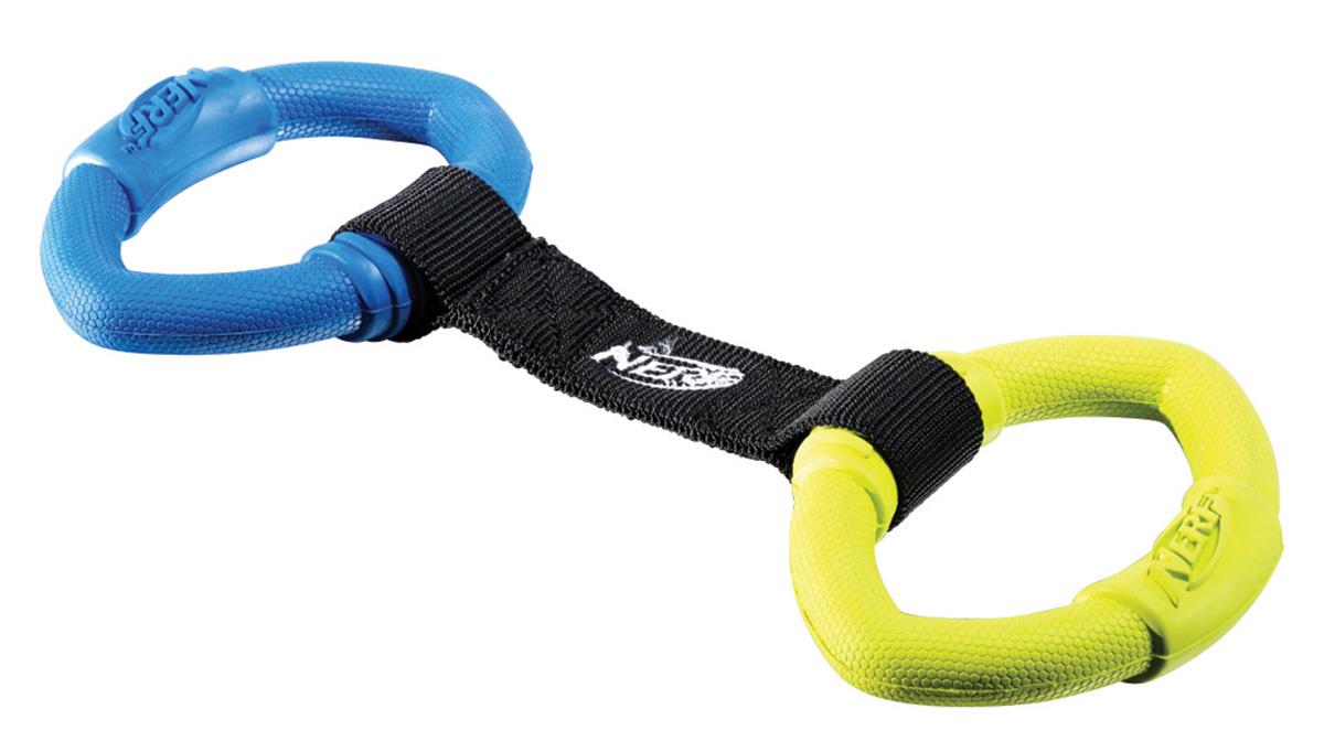 Игрушка для собак Nerf Кольца резиновые, с нейлоновой перемычкой, 32,5 см как нарисовать nerf