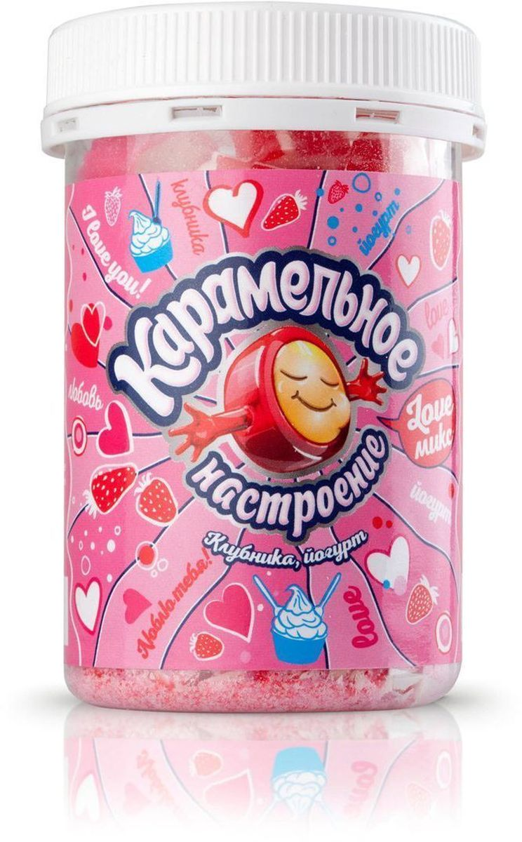 Карамельное настроение Love микс конфеты, 140 г4665298010047Карамель леденцовая ручной работы с натуральным вкусом.
