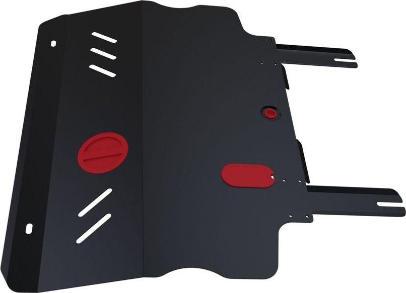Защита картера и КПП Автоброня Fiat Freemont 2013-, сталь 2 мм защита голеностопа на украине