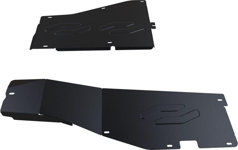Защита топливных трубок Автоброня Honda Pilot 2012-, сталь 2 мм111.02124.1Защита топливных трубок Автоброня Honda Pilot, V - 3,5 2012-, сталь 2 мм, комплект крепежа, 111.02124.1Стальные защиты Автоброня надежно защищают ваш автомобиль от повреждений при наезде на бордюры, выступающие канализационные люки, кромки поврежденного асфальта или при ремонте дорог, не говоря уже о загородных дорогах.- Имеют оптимальное соотношение цена-качество.- Спроектированы с учетом особенностей автомобиля, что делает установку удобной.- Защита устанавливается в штатные места кузова автомобиля.- Является надежной защитой для важных элементов на протяжении долгих лет.- Глубокий штамп дополнительно усиливает конструкцию защиты.- Подштамповка в местах крепления защищает крепеж от срезания.- Технологические отверстия там, где они необходимы для смены масла и слива воды, оборудованные заглушками, закрепленными на защите.Толщина стали 2 мм.В комплекте крепеж и инструкция по установке.Уважаемые клиенты!Обращаем ваше внимание на тот факт, что защита имеет форму, соответствующую модели данного автомобиля. Наличие глубокого штампа и лючков для смены фильтров/масла предусмотрено не на всех защитах. Фото служит для визуального восприятия товара.