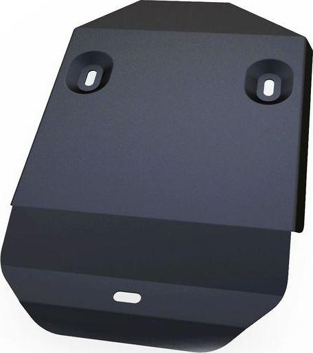 Защита редуктора Автоброня Honda CR-V 2012-, сталь 2 мм111.02128.1Защита редуктора Автоброня Honda CR-V, V - 2,0; 2,4 2012-, сталь 2 мм, комплект крепежа, 111.02128.1Стальные защиты Автоброня надежно защищают ваш автомобиль от повреждений при наезде на бордюры, выступающие канализационные люки, кромки поврежденного асфальта или при ремонте дорог, не говоря уже о загородных дорогах.- Имеют оптимальное соотношение цена-качество.- Спроектированы с учетом особенностей автомобиля, что делает установку удобной.- Защита устанавливается в штатные места кузова автомобиля.- Является надежной защитой для важных элементов на протяжении долгих лет.- Глубокий штамп дополнительно усиливает конструкцию защиты.- Подштамповка в местах крепления защищает крепеж от срезания.- Технологические отверстия там, где они необходимы для смены масла и слива воды, оборудованные заглушками, закрепленными на защите.Толщина стали 2 мм.В комплекте крепеж и инструкция по установке.Уважаемые клиенты!Обращаем ваше внимание на тот факт, что защита имеет форму, соответствующую модели данного автомобиля. Наличие глубокого штампа и лючков для смены фильтров/масла предусмотрено не на всех защитах. Фото служит для визуального восприятия товара.