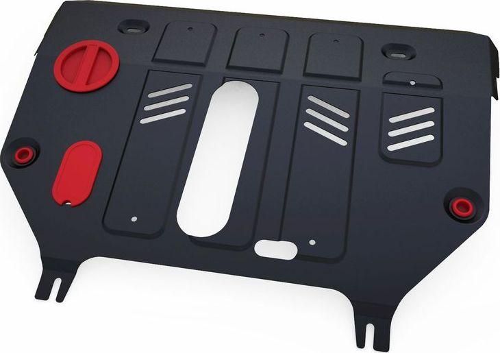 Защита картера и КПП Автоброня Lexus NX 300h 2014-, сталь 2 мм111.03206.1Защита картера и КПП Автоброня Lexus NX, 300h AWD V-2,5 Hybrid 2014-, сталь 2 мм, комплект крепежа, 111.03206.1Стальные защиты Автоброня надежно защищают ваш автомобиль от повреждений при наезде на бордюры, выступающие канализационные люки, кромки поврежденного асфальта или при ремонте дорог, не говоря уже о загородных дорогах.- Имеют оптимальное соотношение цена-качество.- Спроектированы с учетом особенностей автомобиля, что делает установку удобной.- Защита устанавливается в штатные места кузова автомобиля.- Является надежной защитой для важных элементов на протяжении долгих лет.- Глубокий штамп дополнительно усиливает конструкцию защиты.- Подштамповка в местах крепления защищает крепеж от срезания.- Технологические отверстия там, где они необходимы для смены масла и слива воды, оборудованные заглушками, закрепленными на защите.Толщина стали 2 мм.В комплекте крепеж и инструкция по установке.Уважаемые клиенты!Обращаем ваше внимание на тот факт, что защита имеет форму, соответствующую модели данного автомобиля. Наличие глубокого штампа и лючков для смены фильтров/масла предусмотрено не на всех защитах. Фото служит для визуального восприятия товара.