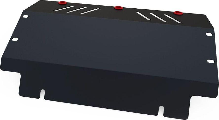 Защита радиатора Автоброня Mitsubishi Pajero II 1991-2000, сталь 2 мм111.04020.1Защита радиатора Автоброня Mitsubishi Pajero II 1991-2000, сталь 2 мм, комплект крепежа, 111.04020.1Дополнительно можно приобрести другие защитные элементы из комплекта: защита картера - 111.04021.1Стальные защиты Автоброня надежно защищают ваш автомобиль от повреждений при наезде на бордюры, выступающие канализационные люки, кромки поврежденного асфальта или при ремонте дорог, не говоря уже о загородных дорогах.- Имеют оптимальное соотношение цена-качество.- Спроектированы с учетом особенностей автомобиля, что делает установку удобной.- Защита устанавливается в штатные места кузова автомобиля.- Является надежной защитой для важных элементов на протяжении долгих лет.- Глубокий штамп дополнительно усиливает конструкцию защиты.- Подштамповка в местах крепления защищает крепеж от срезания.- Технологические отверстия там, где они необходимы для смены масла и слива воды, оборудованные заглушками, закрепленными на защите.Толщина стали 2 мм.В комплекте крепеж и инструкция по установке.Уважаемые клиенты!Обращаем ваше внимание на тот факт, что защита имеет форму, соответствующую модели данного автомобиля. Наличие глубокого штампа и лючков для смены фильтров/масла предусмотрено не на всех защитах. Фото служит для визуального восприятия товара.