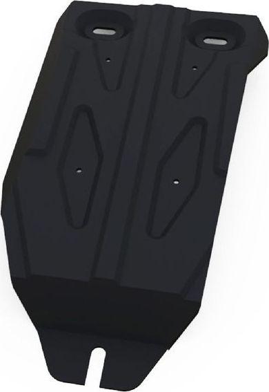 Защита редуктора Автоброня Infiniti QX60 2016-/Nissan Murano 2016-/Nissan Pathfinder 2014-, сталь 2 мм111.04160.1Защита редуктора Автоброня для Infiniti QX60, V - 3,5 2016-/Nissan Murano, V - 3,5 2016-/Nissan Pathfinder, V - 3,5 2014-, сталь 2 мм, комплект крепежа, 111.04160.1Стальные защиты Автоброня надежно защищают ваш автомобиль от повреждений при наезде на бордюры, выступающие канализационные люки, кромки поврежденного асфальта или при ремонте дорог, не говоря уже о загородных дорогах.- Имеют оптимальное соотношение цена-качество.- Спроектированы с учетом особенностей автомобиля, что делает установку удобной.- Защита устанавливается в штатные места кузова автомобиля.- Является надежной защитой для важных элементов на протяжении долгих лет.- Глубокий штамп дополнительно усиливает конструкцию защиты.- Подштамповка в местах крепления защищает крепеж от срезания.- Технологические отверстия там, где они необходимы для смены масла и слива воды, оборудованные заглушками, закрепленными на защите.Толщина стали 2 мм.В комплекте крепеж и инструкция по установке.Уважаемые клиенты!Обращаем ваше внимание на тот факт, что защита имеет форму, соответствующую модели данного автомобиля. Наличие глубокого штампа и лючков для смены фильтров/масла предусмотрено не на всех защитах. Фото служит для визуального восприятия товара.