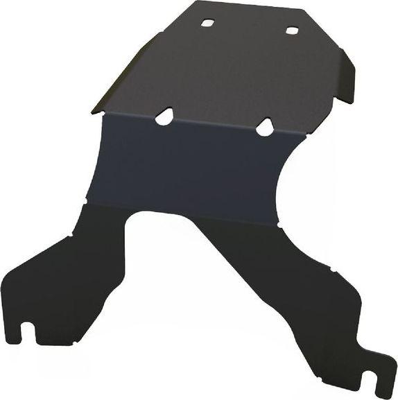 Защита редуктора Автоброня Subaru Legacy 2010-2015, сталь 2 мм111.05428.1Защита редуктора Автоброня Subaru Legacy 2010-2015, сталь 2 мм, комплект крепежа, 111.05428.1Стальные защиты Автоброня надежно защищают ваш автомобиль от повреждений при наезде на бордюры, выступающие канализационные люки, кромки поврежденного асфальта или при ремонте дорог, не говоря уже о загородных дорогах.- Имеют оптимальное соотношение цена-качество.- Спроектированы с учетом особенностей автомобиля, что делает установку удобной.- Защита устанавливается в штатные места кузова автомобиля.- Является надежной защитой для важных элементов на протяжении долгих лет.- Глубокий штамп дополнительно усиливает конструкцию защиты.- Подштамповка в местах крепления защищает крепеж от срезания.- Технологические отверстия там, где они необходимы для смены масла и слива воды, оборудованные заглушками, закрепленными на защите.Толщина стали 2 мм.В комплекте крепеж и инструкция по установке.Уважаемые клиенты!Обращаем ваше внимание на тот факт, что защита имеет форму, соответствующую модели данного автомобиля. Наличие глубокого штампа и лючков для смены фильтров/масла предусмотрено не на всех защитах. Фото служит для визуального восприятия товара.