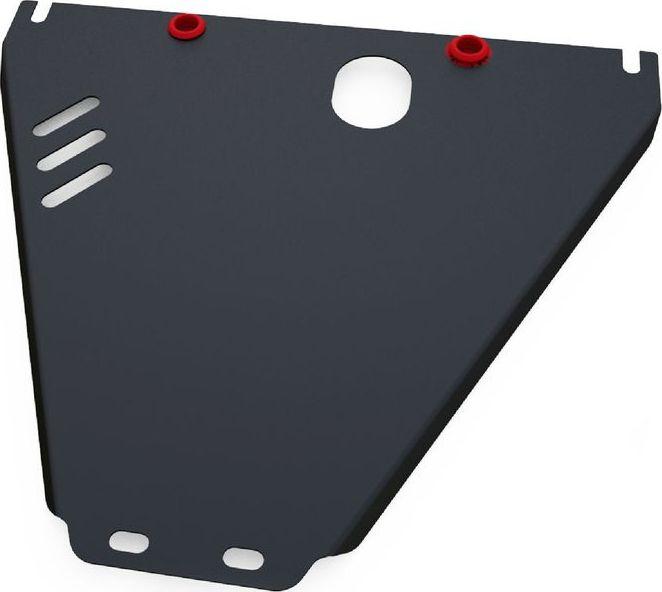Защита КПП Автоброня Hyundai Tager 2008-, сталь 2 мм111.06105.1Защита КПП Автоброня Hyundai Tager (дизель), V - 2,6TD; 2,9TD 2008-, сталь 2 мм, комплект крепежа, 111.06105.1Дополнительно можно приобрести другие защитные элементы из комплекта: защита РК - 111.06106.1Стальные защиты Автоброня надежно защищают ваш автомобиль от повреждений при наезде на бордюры, выступающие канализационные люки, кромки поврежденного асфальта или при ремонте дорог, не говоря уже о загородных дорогах.- Имеют оптимальное соотношение цена-качество.- Спроектированы с учетом особенностей автомобиля, что делает установку удобной.- Защита устанавливается в штатные места кузова автомобиля.- Является надежной защитой для важных элементов на протяжении долгих лет.- Глубокий штамп дополнительно усиливает конструкцию защиты.- Подштамповка в местах крепления защищает крепеж от срезания.- Технологические отверстия там, где они необходимы для смены масла и слива воды, оборудованные заглушками, закрепленными на защите.Толщина стали 2 мм.В комплекте крепеж и инструкция по установке.Уважаемые клиенты!Обращаем ваше внимание на тот факт, что защита имеет форму, соответствующую модели данного автомобиля. Наличие глубокого штампа и лючков для смены фильтров/масла предусмотрено не на всех защитах. Фото служит для визуального восприятия товара.