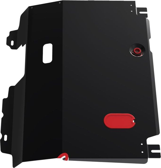Защита картера и КПП Автоброня Haima 7 2013-, сталь 2 мм111.07002.1Защита картера и КПП Автоброня Haima 7, V - 2,0 2013-, сталь 2 мм, комплект крепежа, 111.07002.1Стальные защиты Автоброня надежно защищают ваш автомобиль от повреждений при наезде на бордюры, выступающие канализационные люки, кромки поврежденного асфальта или при ремонте дорог, не говоря уже о загородных дорогах.- Имеют оптимальное соотношение цена-качество.- Спроектированы с учетом особенностей автомобиля, что делает установку удобной.- Защита устанавливается в штатные места кузова автомобиля.- Является надежной защитой для важных элементов на протяжении долгих лет.- Глубокий штамп дополнительно усиливает конструкцию защиты.- Подштамповка в местах крепления защищает крепеж от срезания.- Технологические отверстия там, где они необходимы для смены масла и слива воды, оборудованные заглушками, закрепленными на защите.Толщина стали 2 мм.В комплекте крепеж и инструкция по установке.Уважаемые клиенты!Обращаем ваше внимание на тот факт, что защита имеет форму, соответствующую модели данного автомобиля. Наличие глубокого штампа и лючков для смены фильтров/масла предусмотрено не на всех защитах. Фото служит для визуального восприятия товара.