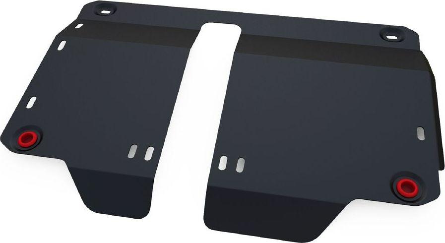 Защита картера и КПП Автоброня FAW V2 2012-, сталь 2 мм111.08004.1Защита картера и КПП Автоброня FAW V2, V-1,3 2012-, сталь 2 мм, комплект крепежа, 111.08004.1Стальные защиты Автоброня надежно защищают ваш автомобиль от повреждений при наезде на бордюры, выступающие канализационные люки, кромки поврежденного асфальта или при ремонте дорог, не говоря уже о загородных дорогах.- Имеют оптимальное соотношение цена-качество.- Спроектированы с учетом особенностей автомобиля, что делает установку удобной.- Защита устанавливается в штатные места кузова автомобиля.- Является надежной защитой для важных элементов на протяжении долгих лет.- Глубокий штамп дополнительно усиливает конструкцию защиты.- Подштамповка в местах крепления защищает крепеж от срезания.- Технологические отверстия там, где они необходимы для смены масла и слива воды, оборудованные заглушками, закрепленными на защите.Толщина стали 2 мм.В комплекте крепеж и инструкция по установке.Уважаемые клиенты!Обращаем ваше внимание на тот факт, что защита имеет форму, соответствующую модели данного автомобиля. Наличие глубокого штампа и лючков для смены фильтров/масла предусмотрено не на всех защитах. Фото служит для визуального восприятия товара.