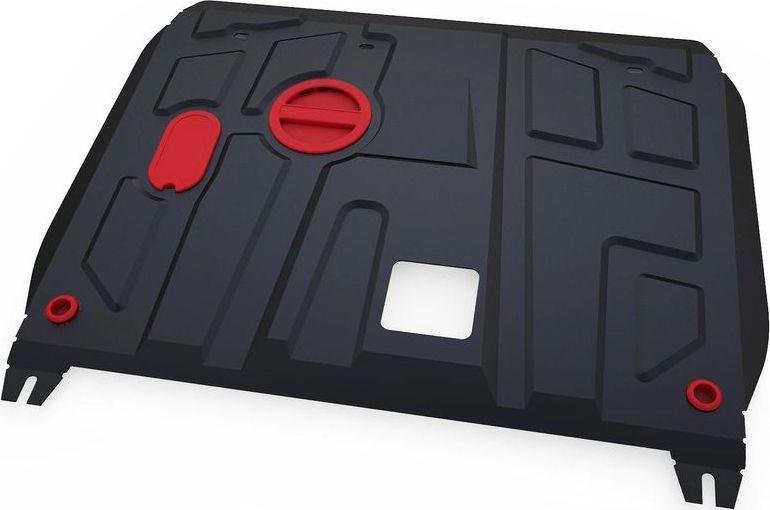 Защита картера и КПП Автоброня Changan Raeton 2013-2016, сталь 2 мм111.08904.1Защита картера и КПП Автоброня Changan Raeton; V - 1,8; 2013-2016, сталь 2 мм, комплект крепежа, 111.08904.1Стальные защиты Автоброня надежно защищают ваш автомобиль от повреждений при наезде на бордюры, выступающие канализационные люки, кромки поврежденного асфальта или при ремонте дорог, не говоря уже о загородных дорогах.- Имеют оптимальное соотношение цена-качество.- Спроектированы с учетом особенностей автомобиля, что делает установку удобной.- Защита устанавливается в штатные места кузова автомобиля.- Является надежной защитой для важных элементов на протяжении долгих лет.- Глубокий штамп дополнительно усиливает конструкцию защиты.- Подштамповка в местах крепления защищает крепеж от срезания.- Технологические отверстия там, где они необходимы для смены масла и слива воды, оборудованные заглушками, закрепленными на защите.Толщина стали 2 мм.В комплекте крепеж и инструкция по установке.Уважаемые клиенты!Обращаем ваше внимание на тот факт, что защита имеет форму, соответствующую модели данного автомобиля. Наличие глубокого штампа и лючков для смены фильтров/масла предусмотрено не на всех защитах. Фото служит для визуального восприятия товара.