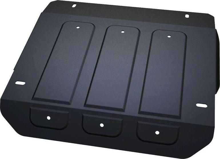 Защита рулевых тяг Автоброня UAZ 3303/3909/3741 1994-, сталь 3 мм222.06319.1Защита рулевых тяг Автоброня UAZ 3303/3909/3741 1994-, сталь 3 мм, комплект крепежа, 222.06319.1Стальные защиты Автоброня надежно защищают ваш автомобиль от повреждений при наезде на бордюры, выступающие канализационные люки, кромки поврежденного асфальта или при ремонте дорог, не говоря уже о загородных дорогах.- Имеют оптимальное соотношение цена-качество.- Спроектированы с учетом особенностей автомобиля, что делает установку удобной.- Защита устанавливается в штатные места кузова автомобиля.- Является надежной защитой для важных элементов на протяжении долгих лет.- Глубокий штамп дополнительно усиливает конструкцию защиты.- Подштамповка в местах крепления защищает крепеж от срезания.- Технологические отверстия там, где они необходимы для смены масла и слива воды, оборудованные заглушками, закрепленными на защите.Толщина стали 3 мм.В комплекте крепеж и инструкция по установке.Уважаемые клиенты!Обращаем ваше внимание на тот факт, что защита имеет форму, соответствующую модели данного автомобиля. Наличие глубокого штампа и лючков для смены фильтров/масла предусмотрено не на всех защитах. Фото служит для визуального восприятия товара.