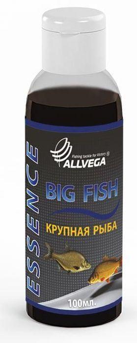Ароматизатор-концентрат жидкий Allvega Крупная рыба, 100 мл0057666Высококонцентрированный жидкий ароматизатор (эссенция) Allvega Крупная рыба применяется для ароматизации рыболовных прикормок и насадок. При добавлении в смесь значительно повышает ее привлекательность для крупной рыбы. Товар сертифицирован.Объем: 100 мл.