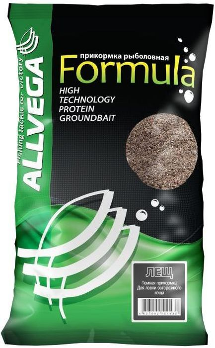 Прикормка Allvega Formula Black Bream, черный лещ, 900 г formula fa 011b black
