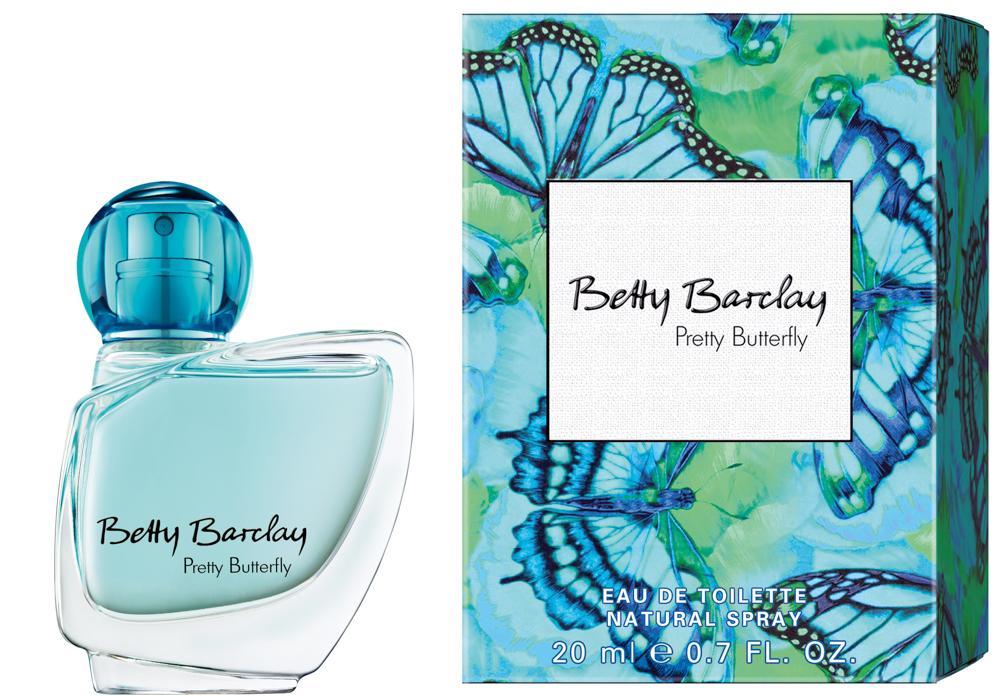 Betty Barclay Pretty Butterfly Туалетная вода 20 мл4011700363001Betty Barclay Pretty Butterfly - идеальный аромат для чувственных и уверенных в себе женщин в возрасте от 20 до 49, чья жизнь наполнена счастьем.