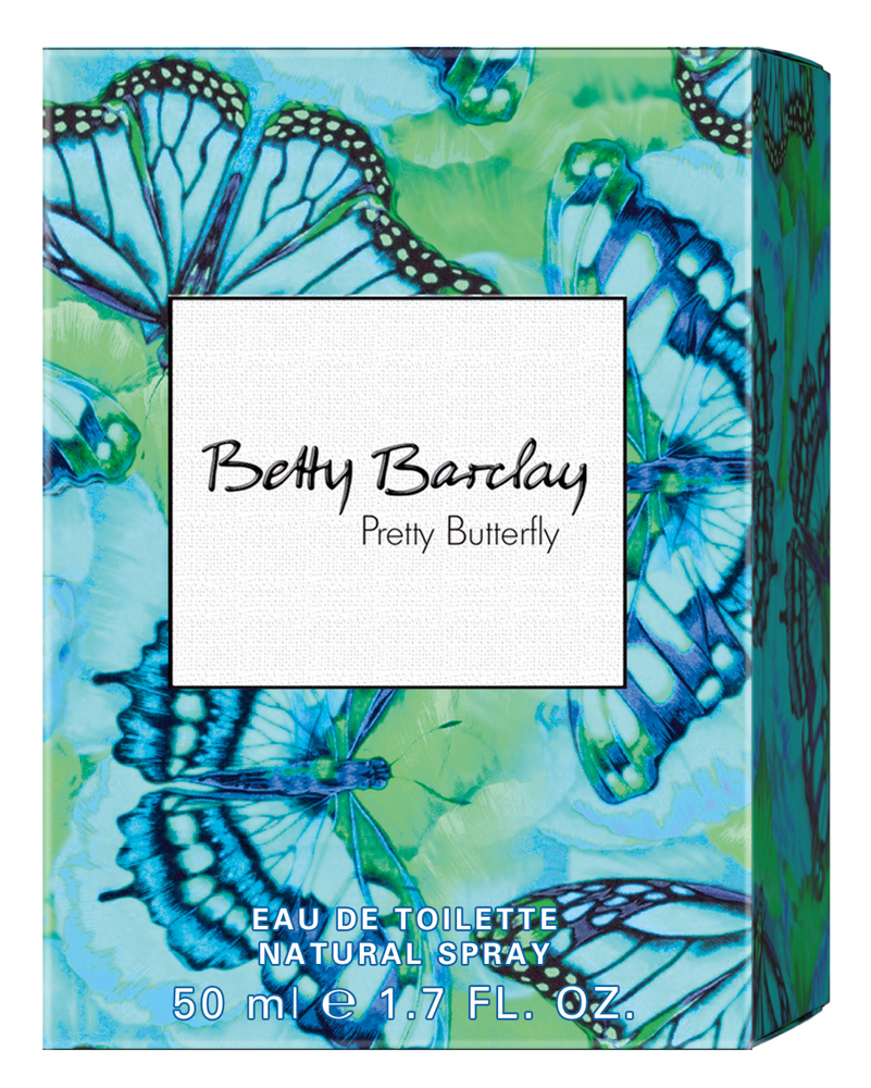 Betty Barclay Pretty Butterfly Туалетная вода 50 мл джинсы betty barclay betty barclay be053ewzzs19