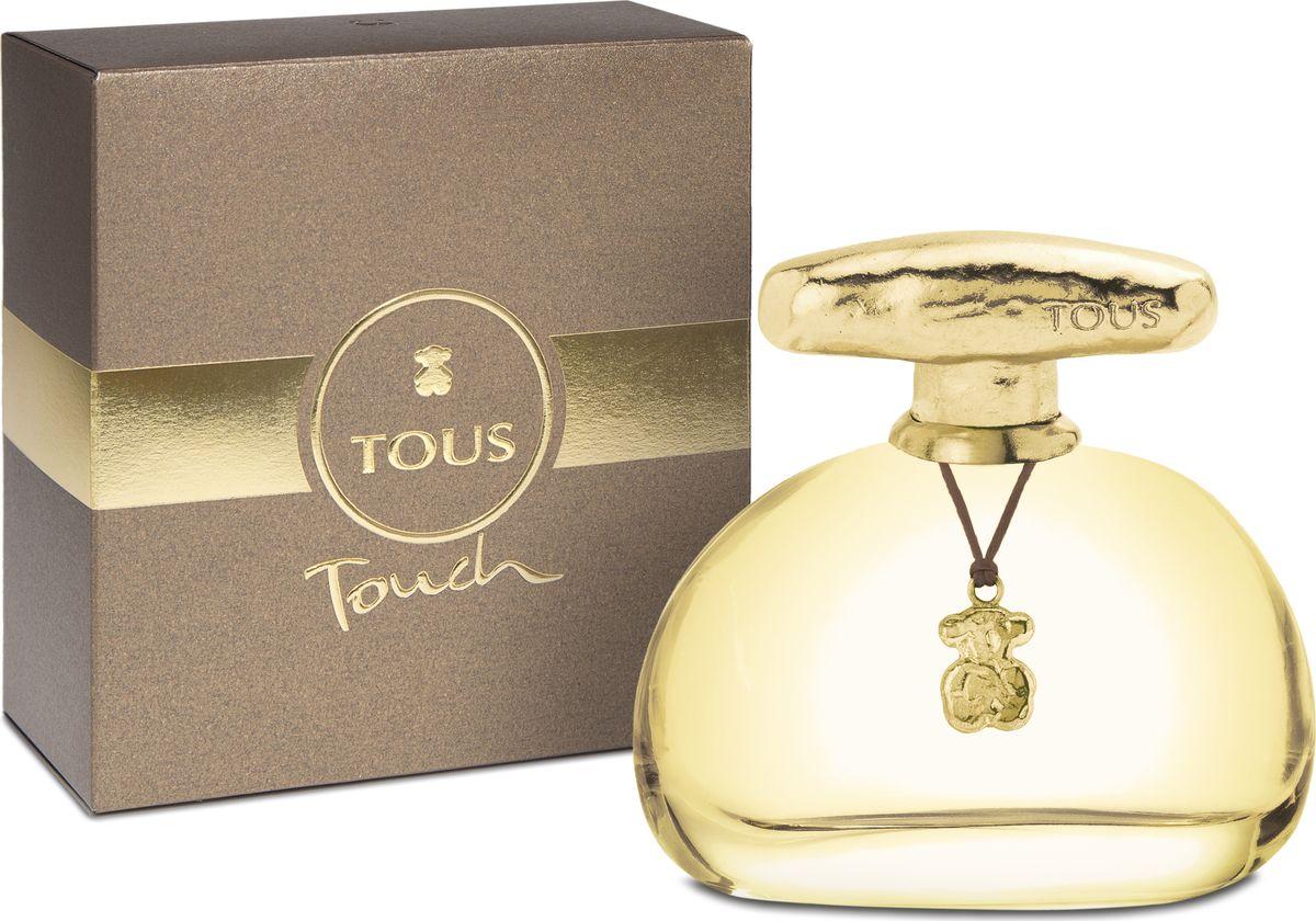 Tous Touch Туалетная вода 100 мл731061Композиция Tous Touch напоминает ювелирные изделия фирмы Tous. Она воплощает в себе роскошь и изысканность ювелирных украшений. Они всегда украшают женщину, подчеркивая изящество и утонченность ее стиля.