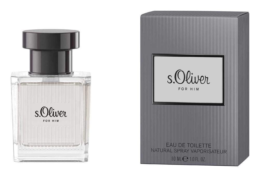S.oliver For Him Туалетная вода 50мл4011700878017Новая линия s.Oliver создана специально для того, чтобы навсегда запечатлеть в памяти самые приятные мгновения. Главный тренд сезона: Образ все оттенки серогоКраткий гид по парфюмерии: виды, ноты, ароматы, советы по выбору. Статья OZON Гид
